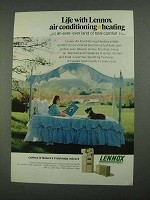 1968 Lennox Air Conditioning Ad - Land of Comfort