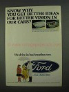 1968 Ford Motors Ad - Know Why You Get Better Ideas