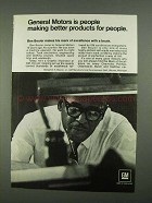 1968 General Motors Ad - Better Products for People