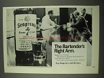 1968 Seagram's 7 Crown Whiskey Ad