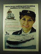 1975 U.S. Navy Ad - Making and Breaking Tradition