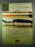 1975 Zebco John Powell Pro Staff Fishing Rod Ad