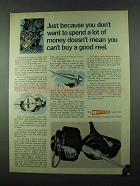 1975 Garcia Mitchell 206 and 204 Fishing Reels Ad