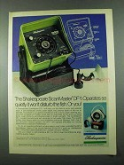 1975 Shakespeare ScanMaster DF-1 Ad - So Quietly