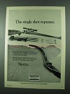 1975 Shakespeare 52 Inch Sierra Bow Ad - Repeater