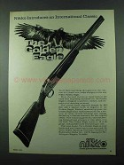 1975 Nikko Golden Eagle Shotgun Advertisement - Classic