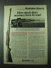 1975 Remington Model 788 Rifle Ad - How Much Accuracy