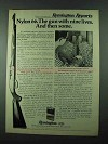 1975 Remington Nylon 66 Rifle Ad - Nine Lives