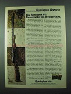 1975 Remington 870 Shotgun Ad - Weather Anything