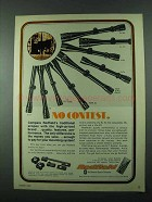 1975 Redfield Scopes Advertisement - No Contest