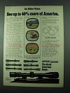 1975 Weaver K-W and V-W Model Scopes Ad - See More