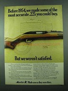 1975 Marlin 99C Rifle Ad - Most Accurate .22's