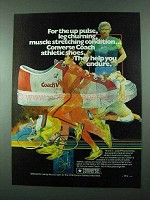 1975 Converse Coach V Athletic Shoe Ad - Up Pulse