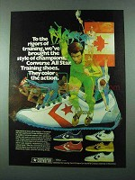 1975 Converse All Star Training Shoes - To The Rigors
