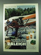 1975 Raleigh Cigarettes Advertisement - Full Flavor