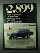 1975 Austin MG Marina Car Ad - $2,899 for tough Marina