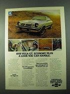 1975 Chevy Vega GT Ad - Economy Plus a Look