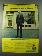 1975 Continental Insurance Ad - Service What We Sell