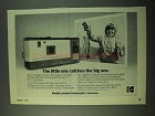 1975 Kodak Instamatic 40 Camera Ad - Catches Big One