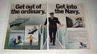 1975 U.S. Navy Ad - Get Out of the Ordinary