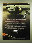 1974 Zebco XBL77 Fishing Reel Ad - Great Fish