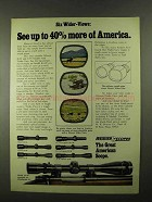 1974 Weaver K-W and V-W Model Scopes Ad - See More
