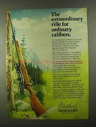 1974 Weatherby Vanguard Rifle Advertisement - Extraordinary