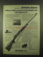 1974 Remington Model 700 BDL Custom Deluxe Rifle Ad