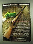1974 Remington Model 700 BDL Rifle Ad - Preferred
