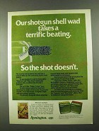 1974 Remington Express and ShurShot Shotgun Shells Ad - Takes Beating