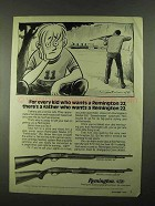 1974 Remington Model 552 and Model 572 BDL Rifles Ad