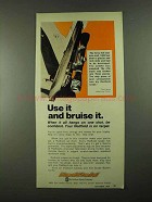 1974 Redfield Scope Ad - Use It And Bruise It
