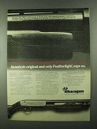 1974 Ithaca Gun Model 37 Featherlight Shotgun Ad