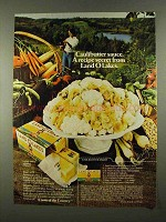 1974 Land O Lakes Butter Ad - Caulibutter Sauce