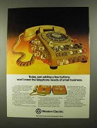 1974 Western Electric Ad - Adding a Few Buttons