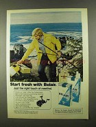 1974 Belair Cigarettes Advertisement - Start Fresh With