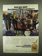 1974 Camel Cigarettes Ad - Can You Spot the Smoker?