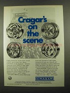 1974 Cragar Custom Wheels Ad - On The Scene