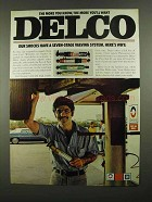 1974 Delco Shocks Ad - The More You Know