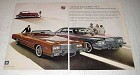 1975 Cadillac Sedan deVille and Eldorado Convertible Ad