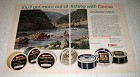 1974 Garcia Royal Bonnyl Fishing Line Ad - Get More