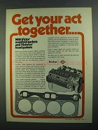 1973 Victor Manifold Gaskets and Head Gaskets Ad