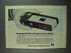 1973 Kodak Pocket Instamatic 40 Camera Ad - Prepared