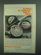 1973 Scientific Anglers Fly Fishing Tackle Ad