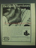 1973 Herman Survivors Boots Ad