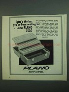 1973 Plano 7530 Tackle Box Ad - You've Been Waiting For