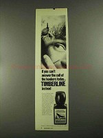 1972 English Leather Timberline After Shave Ad