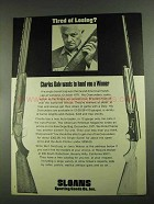 1972 Charles Daly Shotguns Ad - Tired of Losing?