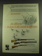1972 Browning Automatic-5, Superposed & B-SS Shotgun Ad