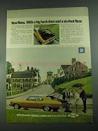 1973 Chevrolet Nova Hatchback Coupe Ad - Big Back Door